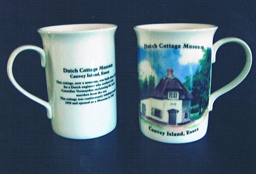 Dutch Cottage canvey Mugs